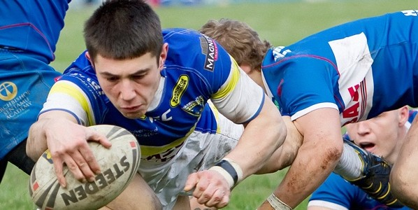 James Saltonstall u20's Player of the Month February 2012