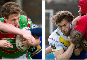 Ben Evans & Jordan Burke Joint u20's Players of the Month May 2010