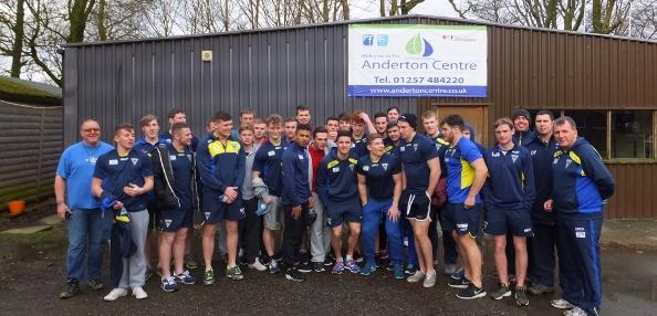 Squadbuilder sponsor Under 19's Weekend at the Anderton Centre