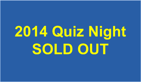 2014 Quiz Night SOLD OUT