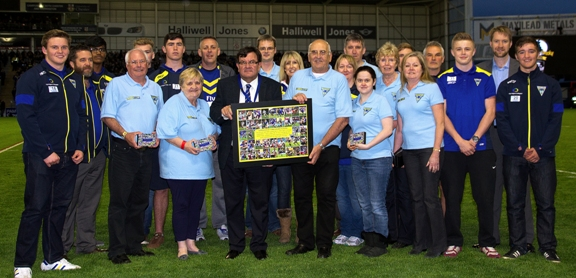 A big thank you from Warrington Wolves