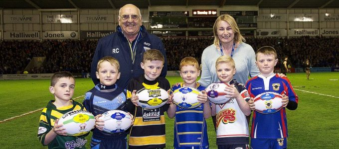 WWST and Veeps sponsor balls for local clubs.