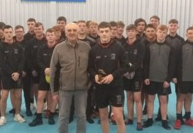 Josh Thewlish u16's Player of the Month February 2018
