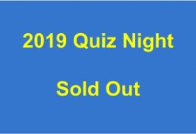 2019 Quiz Night SOLD OUT.