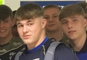 Denive Balmforth  u16's Player of the Month July 2019