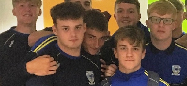 Nick Staveley and Leon Hayes U16's Players of the Month June 2019