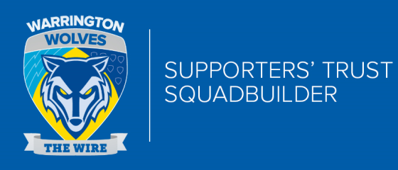 Warrington Wolves Supporters Trust  – Squadbuilder